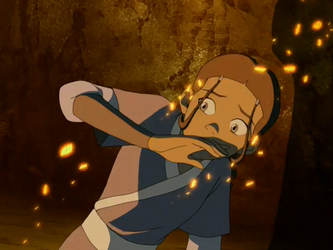 File:Katara cowers from cinders.png