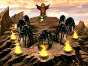 Toph como Señor de la Sandía