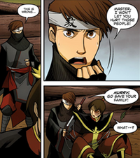 Kei Lo frees Zuko
