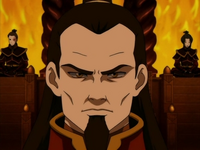 Close-up of Ozai