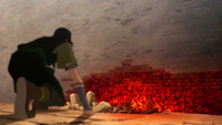 Ghazan derrumba el muro interior