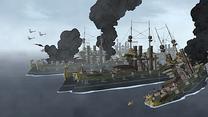 La flota de Iroh hundiéndose