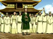 Ciudadanos del pueblo de Chin