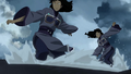 Desna and Eska attacking Korra.png
