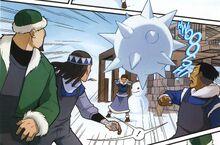Комикс СЮ1 Катара против строителей