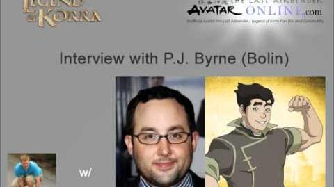 Interview with Bolin from The Legend of Korra