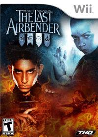 The Last Airbender видеоигра обложка
