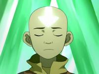 Aang desbloquea su chakra