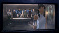 Korra gives in to Zaheer