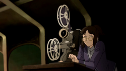 Motion movie projector