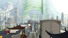 К1х01 пробка на мосту