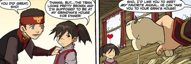 File:Aang and Sho.png