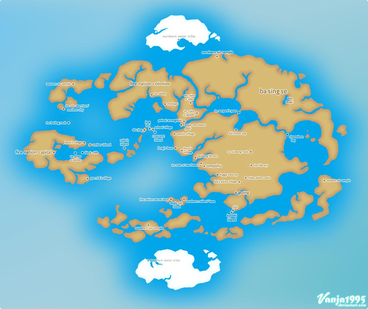 Image avatar political map by vanja1995g avatar wiki avatar political map by vanja1995g gumiabroncs Choice Image
