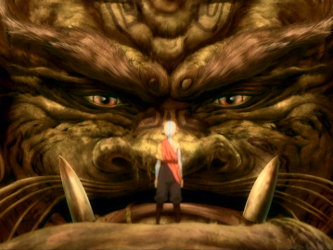 File:Lion Turtle and Aang.png