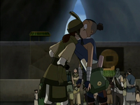 Suki reunites with Sokka