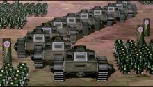 К4х05 Армия Кувиры вблизи