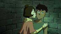 Jinora kisses Kai