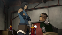 Baatar Jr. and Korra
