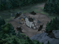 Rough Rhinos attack Team Avatar