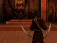 Zuko confronting Ozai