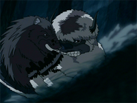 Appa and the boar-q-pine