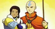 El futuro de Aang y Katara