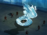 Luta no navio de Zuko