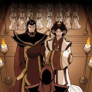 Ozai und Ursa heiraten