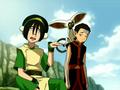 Toph, Aang, and Momo.png