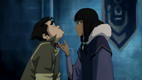 Eska engaging herself to Bolin