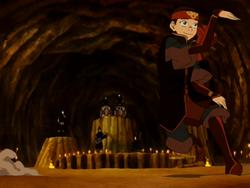 Aang dancing