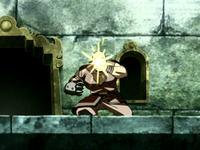 Muerte del Hombre Combustión