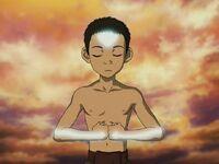 3х06 Аанг медитирует