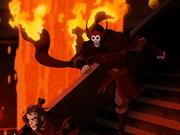 Flucht Feuertempel