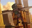 Meca traje colibrí