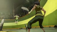 Earthbending duel