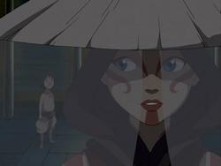 Katara as the Painted Lady