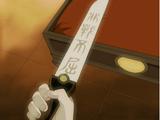 Zuko's pearl-handled dagger