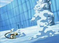 1х19 Аанг в снегу