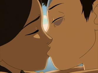 File:Aang and Katara kiss in a dream.png