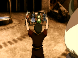 Zuko wants to join Team Avatar