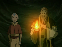 Aang and Iroh