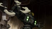 Robo-Panzer Angriff