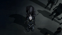Amon taking Lin's bending away
