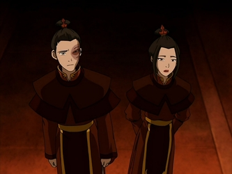 Zuko And Azula Often Wore Royal Robes While In The Fire Nation Palace