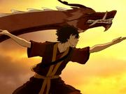 Dancing Dragon step 7