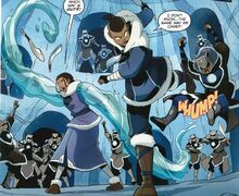 Комикс СЮ1 Битва в пещере