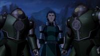 Kuvira chastising Suyin