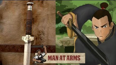 Sokka's Meteor Sword (The Last Airbender) - MAN AT ARMS-0