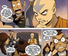 Комикс П1 Злобное лицо Аанга